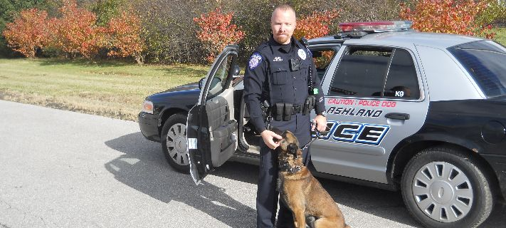 Police Officer with K-9